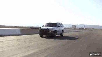 The 'Grappler' police bumper in action.