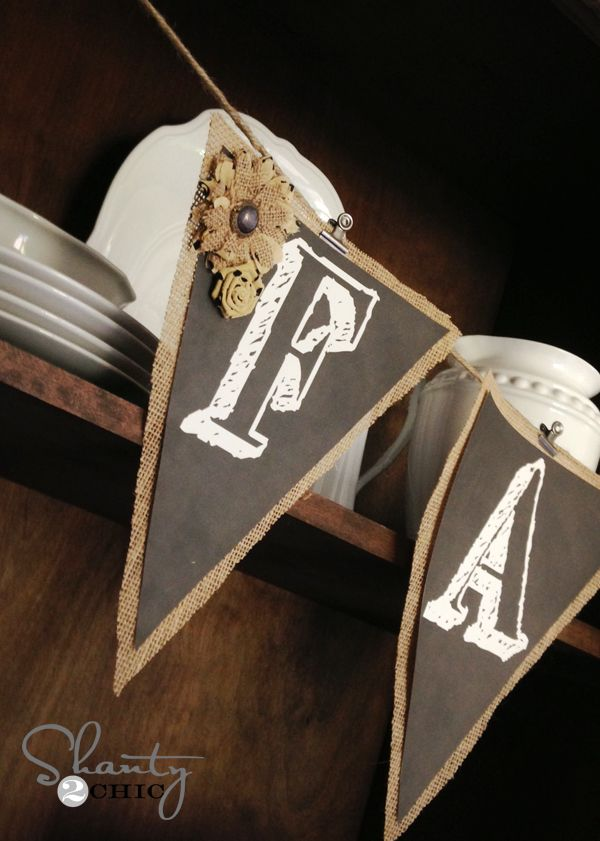 Free printable chalkboard banner letters @taylorlynnk