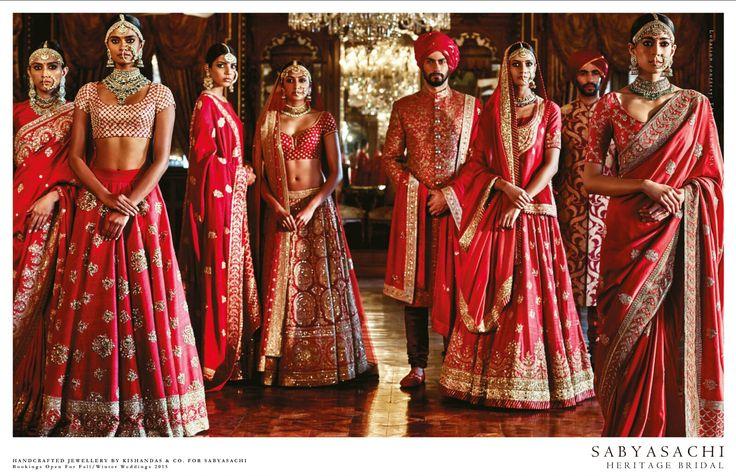 Sabyasachi Heritage Bridal - VOGUE India July 2015.