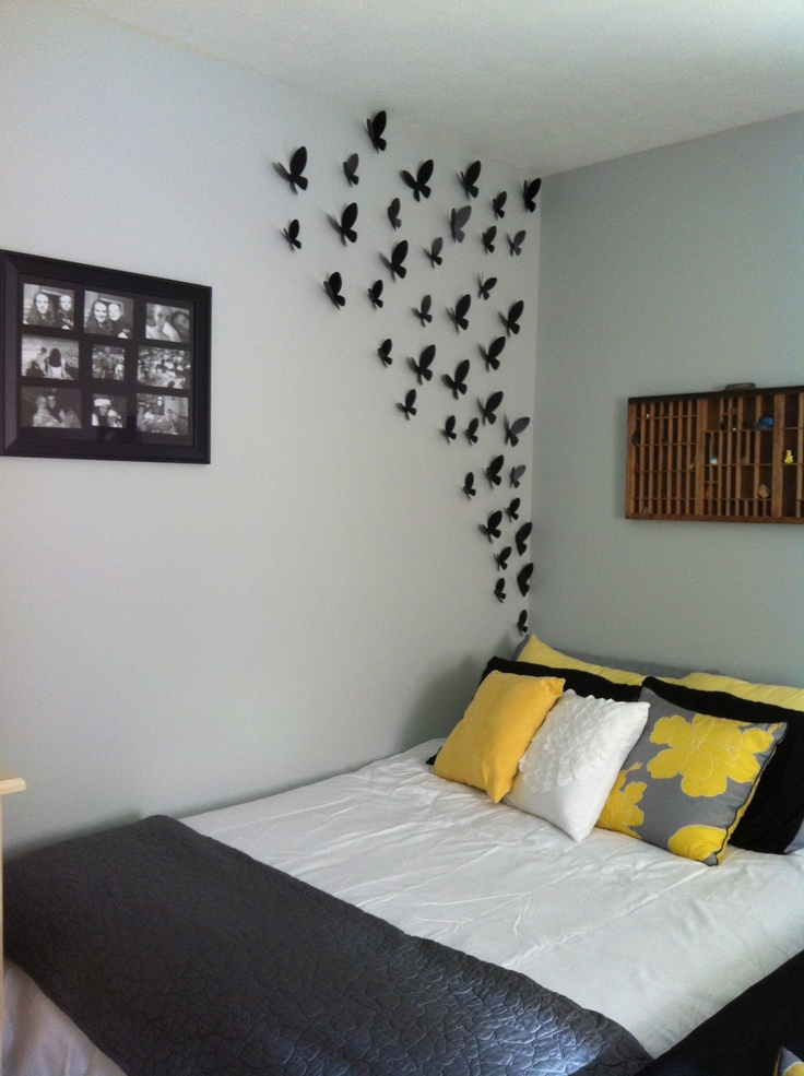 45 Best Room Ideas Images On Pinterest  Cool Ideas Crafts And Interesting Bedroom Wall Decorating Ideas Design Inspiration