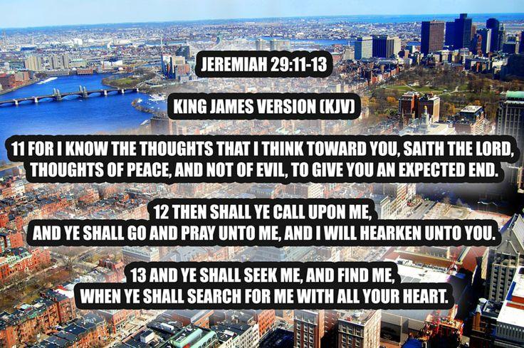 17 Best Ideas About Jeremiah 29 11 Kjv On Pinterest
