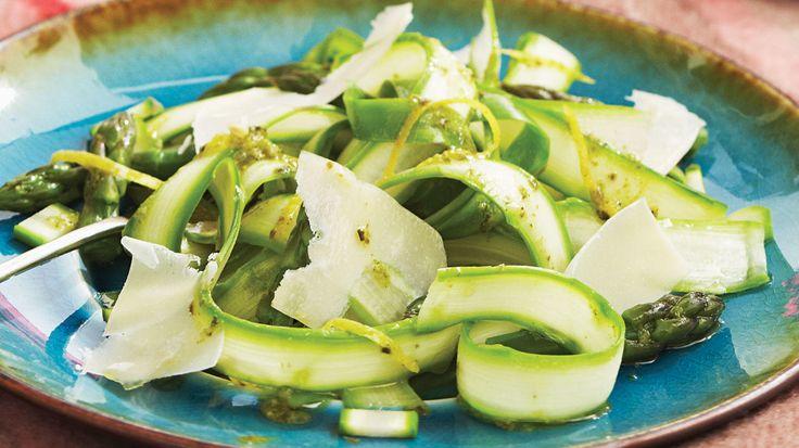 Sobeys | Salade d'asperges avec vinaigrette pesto-citron