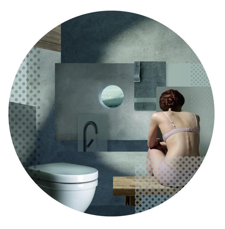 Solid Grey World by Pressalit, designed by Scholten & Baijings