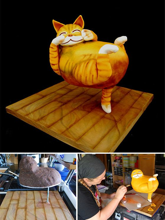 Amazing Cake Sculptures from Threadcakes Contest
