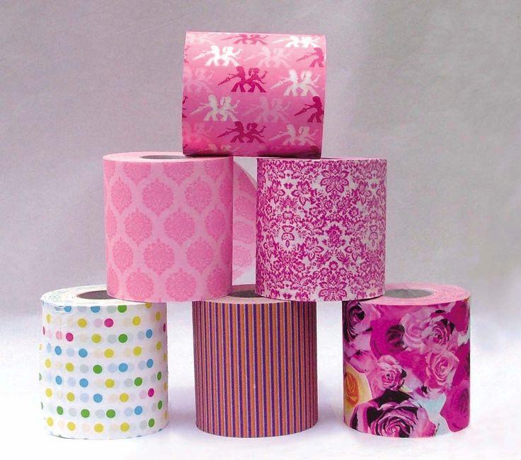 33 best Colored Toilet Paper images on Pinterest | Toilet paper ...