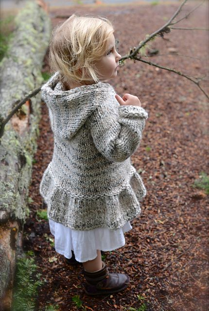 Ravelry: Cloudyn Sweater pattern by Heidi May. 2-11 years