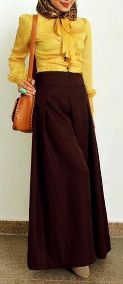 Nice #Hijab Outfit .