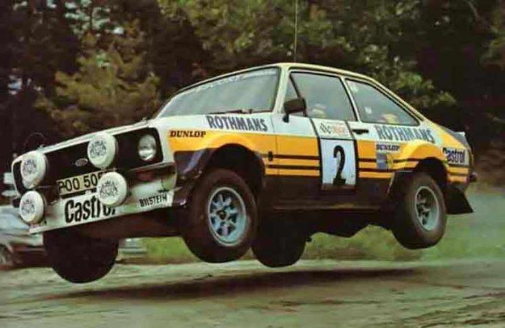 Ford Escort mark II rally car