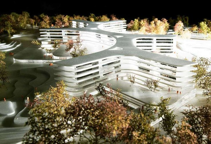 The citizens of North Zealand in 2020 have a new and modern hospital at approx. 124,000 m² to be built in green surroundings close to Hillerød, Denmark, ci