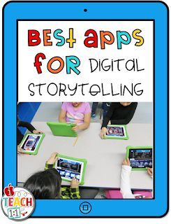 Best Digital Storytelling iPad Apps and Ideas for Kids. Teachers, make writing f…