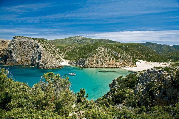 Cala Domestica, Buggerru,Sardinia