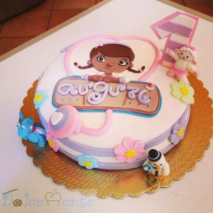 Torta Dottoressa Peluche - Doc Mc Stuffin Cake