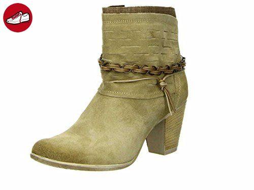 TAMARIS - Damen Stiefeletten - Beige, Größe:40 - Tamaris schuhe (*Partner-Link)