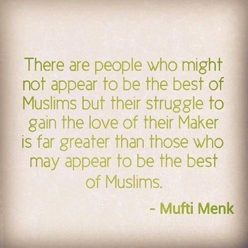 The Best of Muslims… (Mufti Menk) yes very accurate