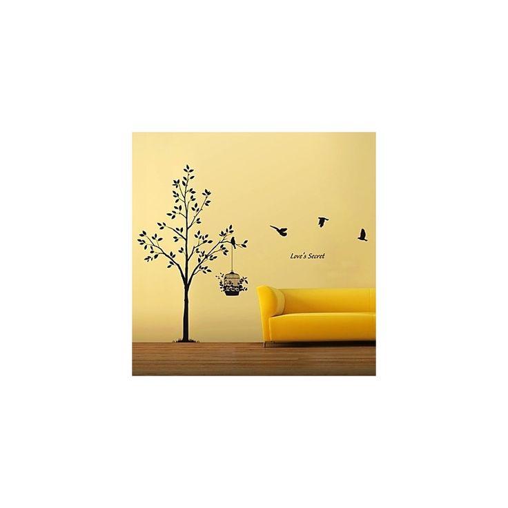 les 25 meilleures id es concernant stickers muraux arbre sur pinterest autocollants d 39 arbre. Black Bedroom Furniture Sets. Home Design Ideas