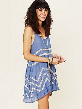 Free as a bird: Trapez Slip, Casual Summer, Lace Trapez, Free People Clothing, People Voile, Voile Trapez, Slip Dresses, The Dresses, Clothing Boutiques