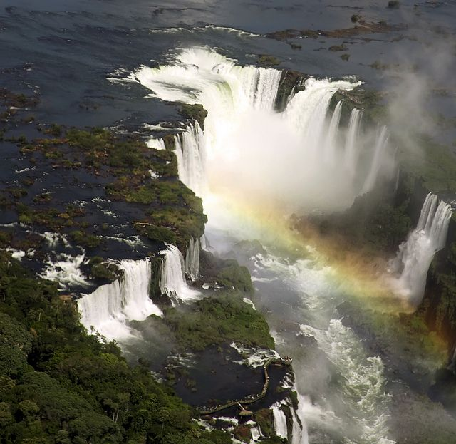 Iguazu Falls, Argentina. Argentina is one of my top places I want to visit. I think from this photo its apparent why.