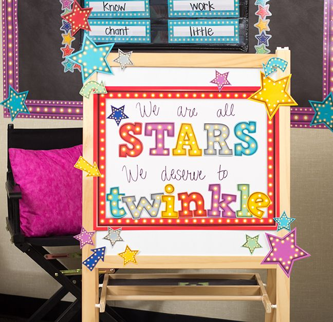 Classroom Decor Stars : Best marquee classroom decorations images on pinterest