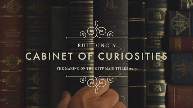 """A short """"making of"""" of the OFFF Main Titles 2013: Mr. Emilton's Cabinet of…"""