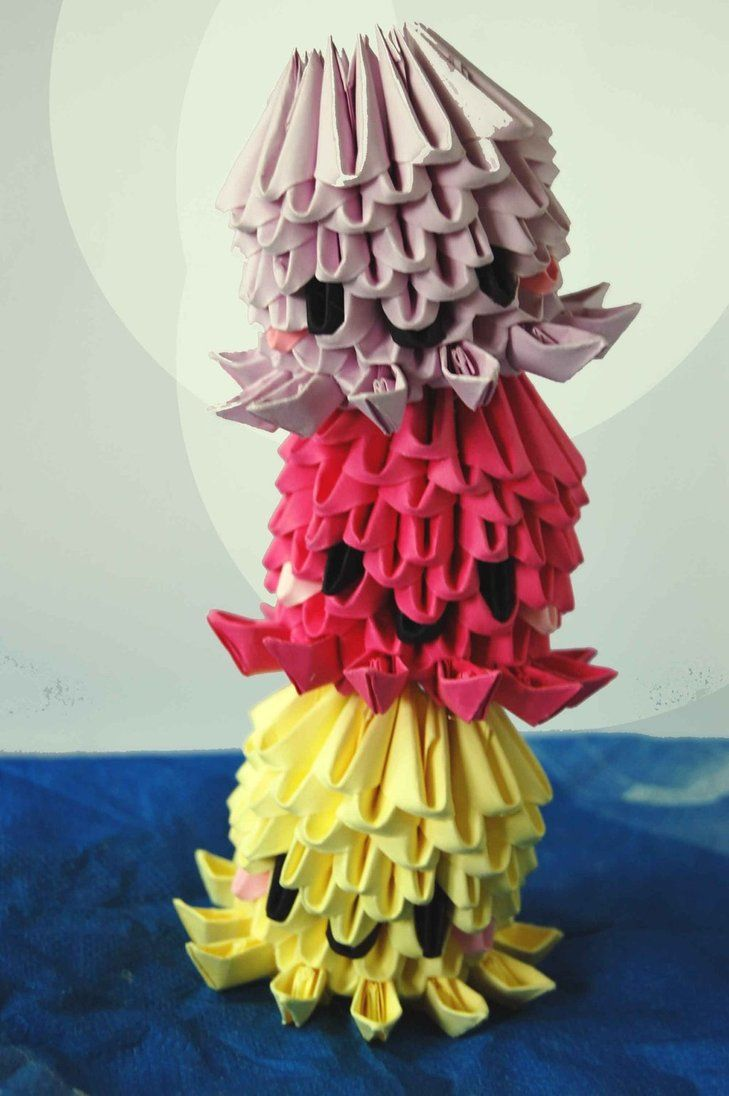 3D Origami Octopuses/Jellyfish by dounyatsu                                                                                                                                                                                 More