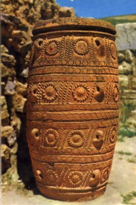 minoan pots  We also love crete as you can see on http://ferienwohnung-kreta.de/ and have some nice photos there!