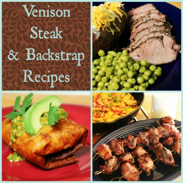 A complete collection of all Venison Steak & Backstrap Recipes  |  My Wild Kitchen.com