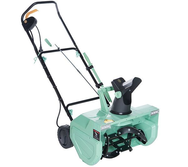 Winter doesn't stand a chance when you're armed with this electric snow blower. QVC.com