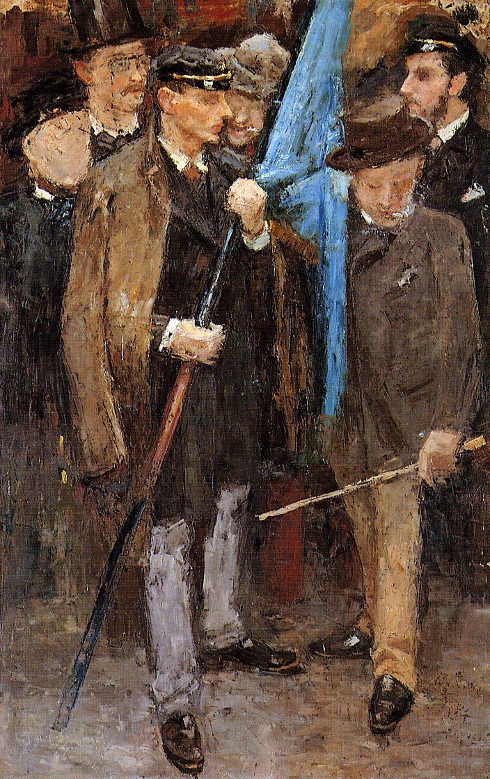 Brussels students - Jan Toorop