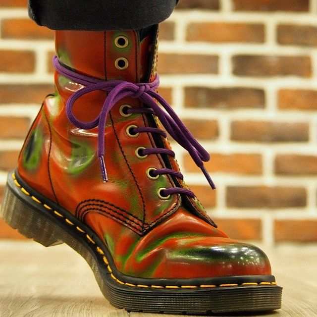 Dr. Martens Pascal rub-off boots.