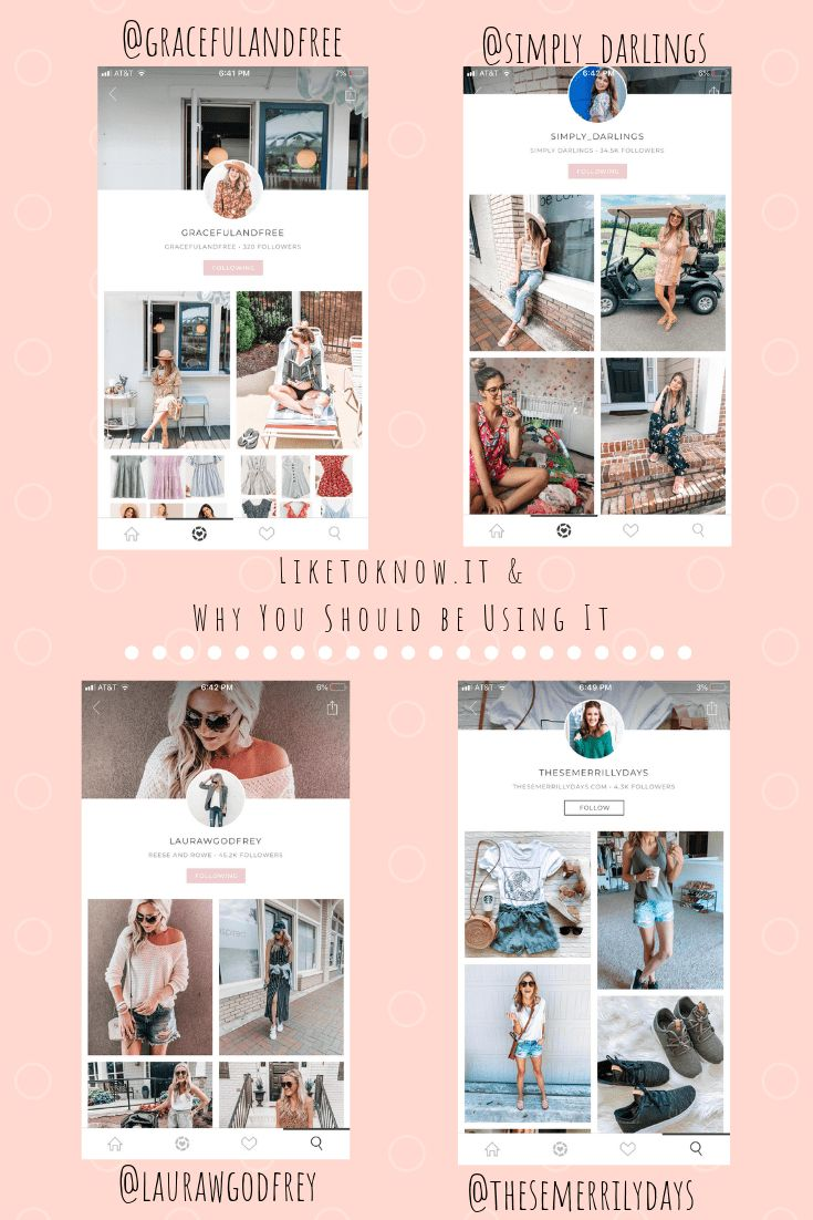 The Liketoknow.it App & The Reasons Why YOU Should Be