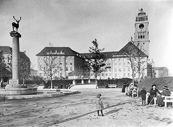 Berlin Rathaus Schöneberg um 1913
