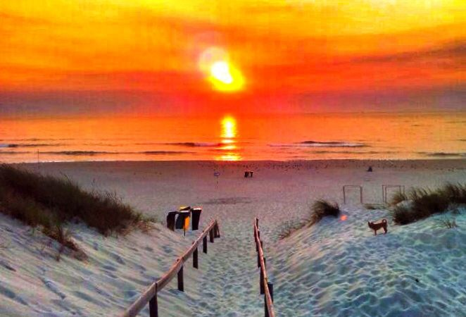 Praia da Tocha, Cantanhede #sunset