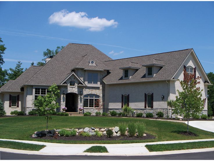 Theriot manor european home 2nd floor luxury house for European manor house plans
