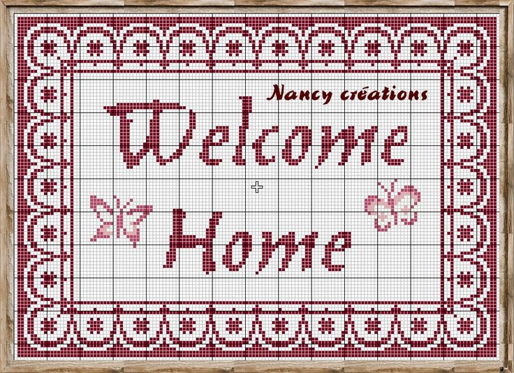 Pour commencer le week end, voici une nouvelle grille qui je pense vous fera plaisir. Vos invités seront bien contents de venir chez vous !!!