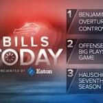 Bills Today: Benjamin's beautiful TD overturned by controversial call