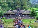 Candi Cetho, Karanganyar, Jawa Tengah. Tujuan ke-dua Liburan Tahun Baru 2015