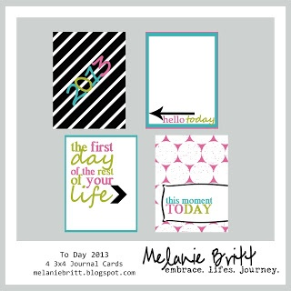 #projectlife free journal cards