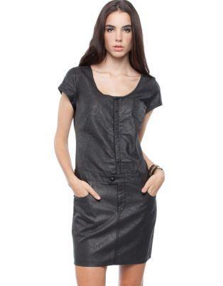 G-Star RAW - Modernist Radar Super Slim Dress - Dresses (Black)