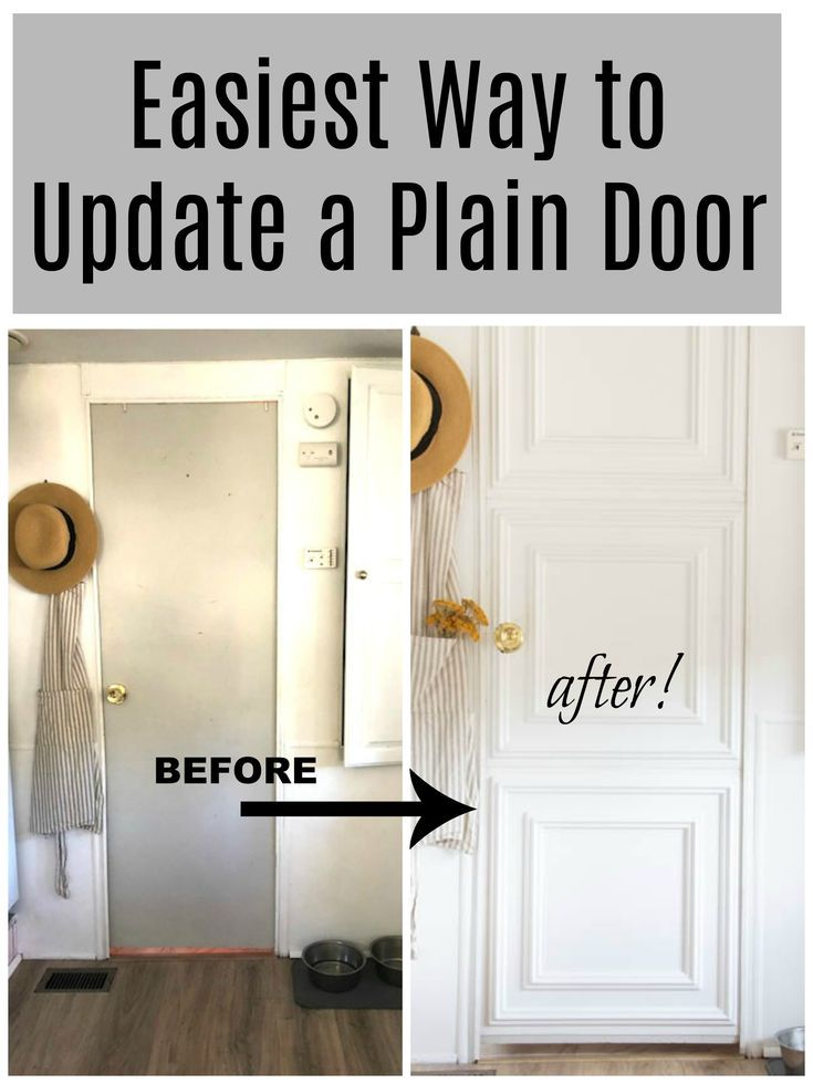 Updating An Old Door Seeking Lavender Lane Home Remodeling Diy Home Renovation Door Makeover