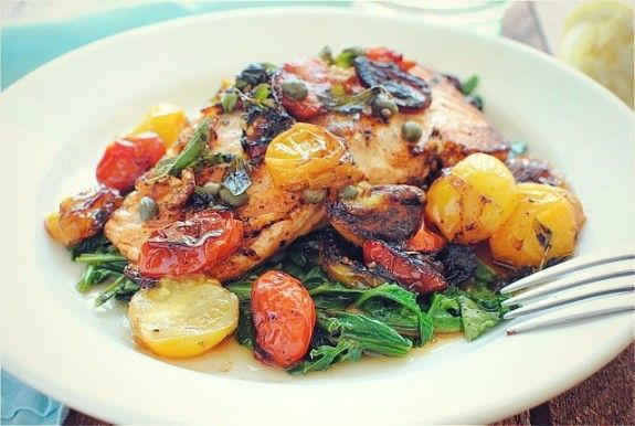 Pan-Seared Salmon For One! Genius! v