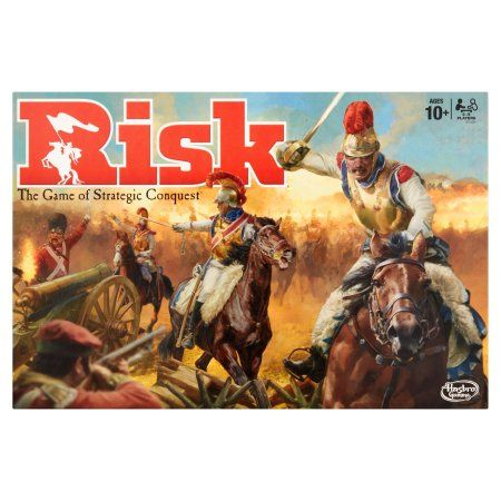 Hasbro Gaming Risk The Game of Stategic Conquest 2 - 5 Players Ages 10+