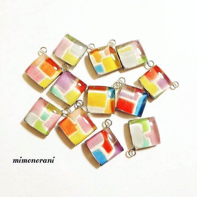 """Enraptured in transparent shine. Arrange Easy DIY a freely """"Resin accessories"""" 