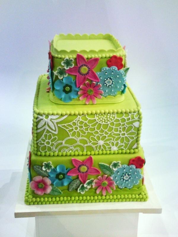Floral Wedding Cakes Pinterest