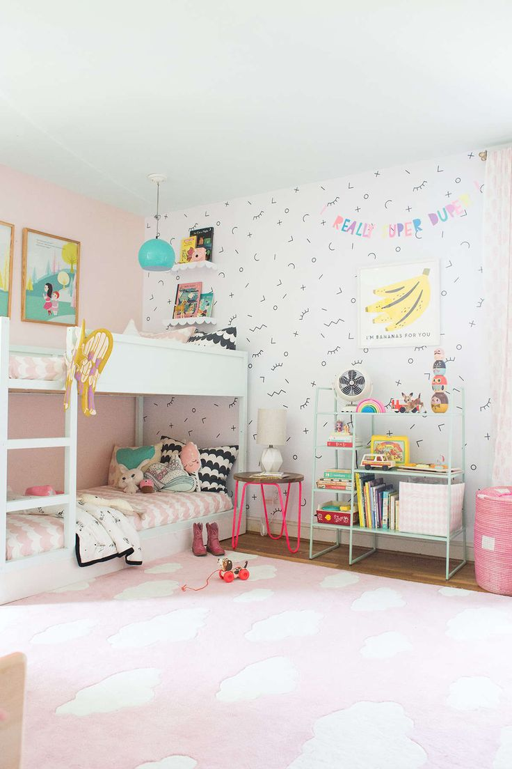 Best 25 shared bedrooms ideas on pinterest sister bedroom shared rooms and shared kids bedrooms - Bed for girls room ...