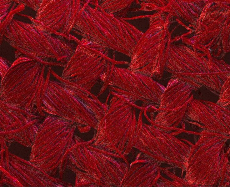 3.22.2016 No more washing: Nano-enhanced textiles clean themselves with light   The red color indicates the presence of silver nanoparticles – the total coverage on the image shows the nanostructures grown by the RMIT team are present throughout the textile. Image magnified 200x Credit: RMIT University