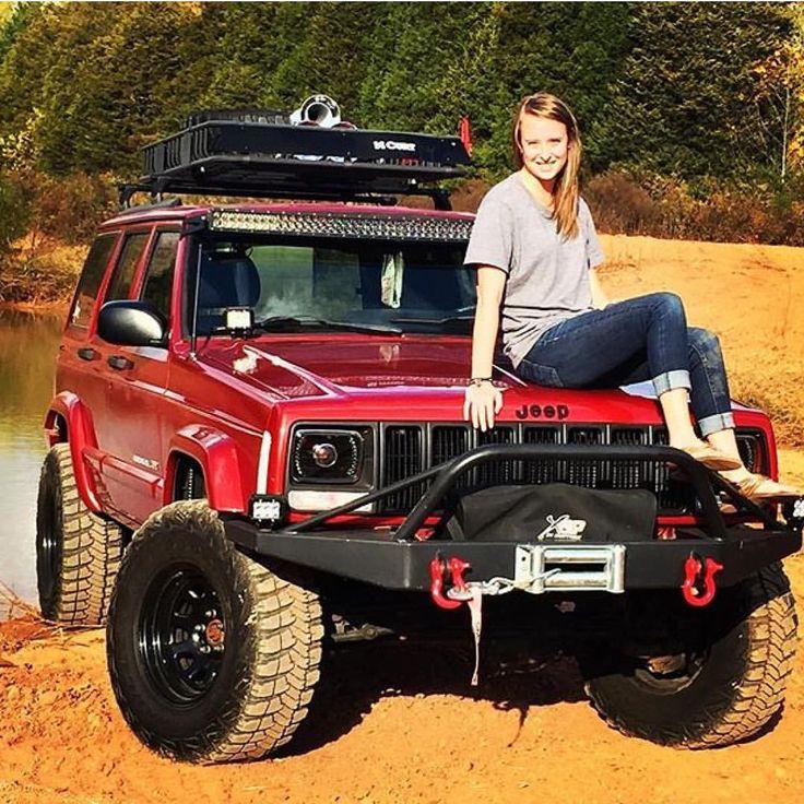 @morganburnette www.jeepbeef.com #JEEPHER #jeep #xj #jeeplife #jeepgirl ™@jeepher