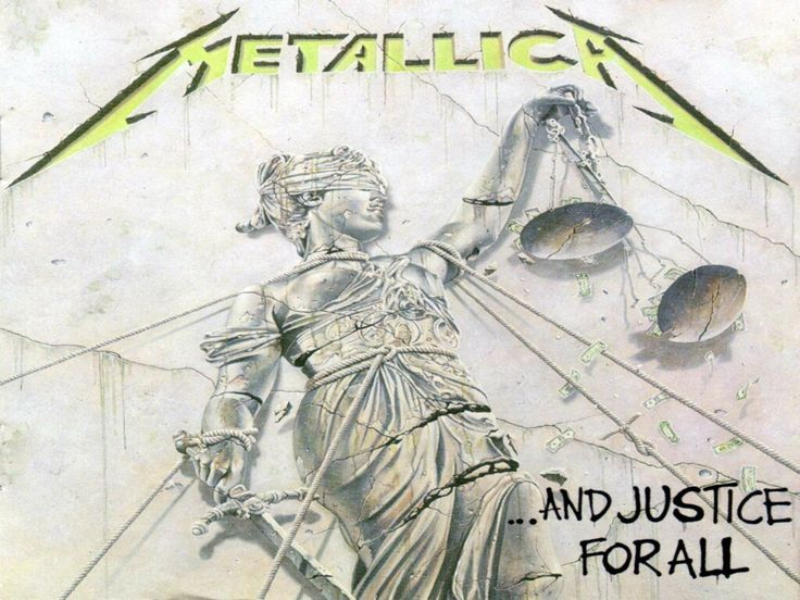 And Justice for All Album Cover metallica and justice