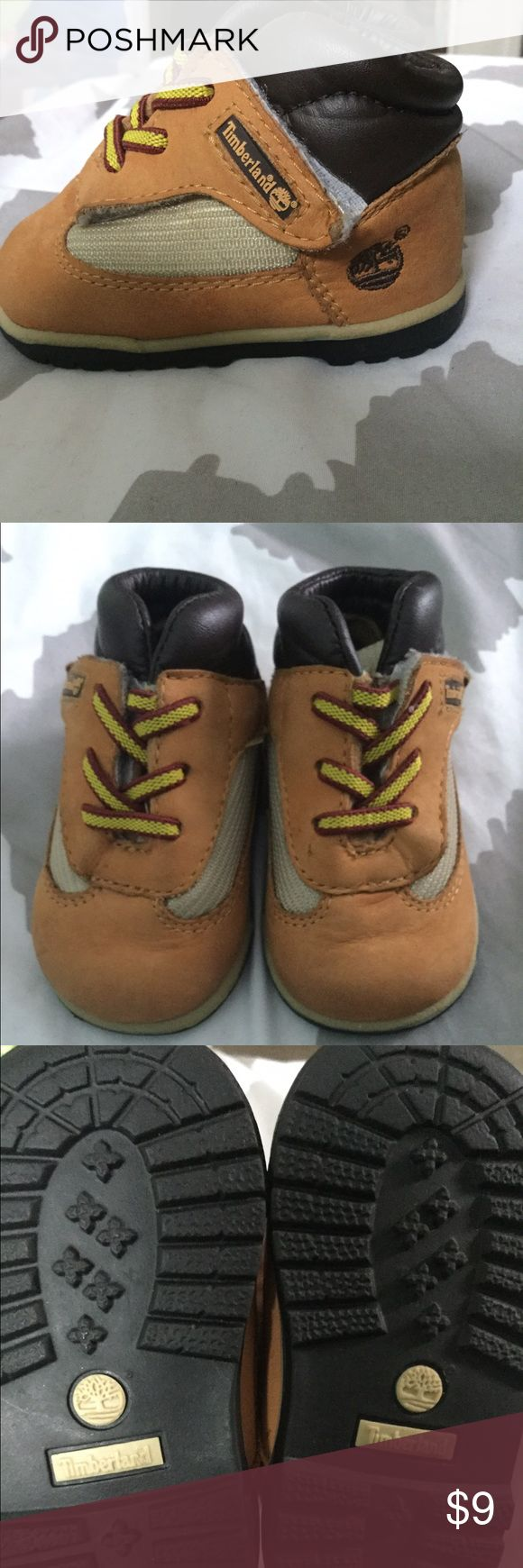 Infant timberland boots Infant size 1 c boots in fair condition normal wear and tear Timberland Shoes Boots