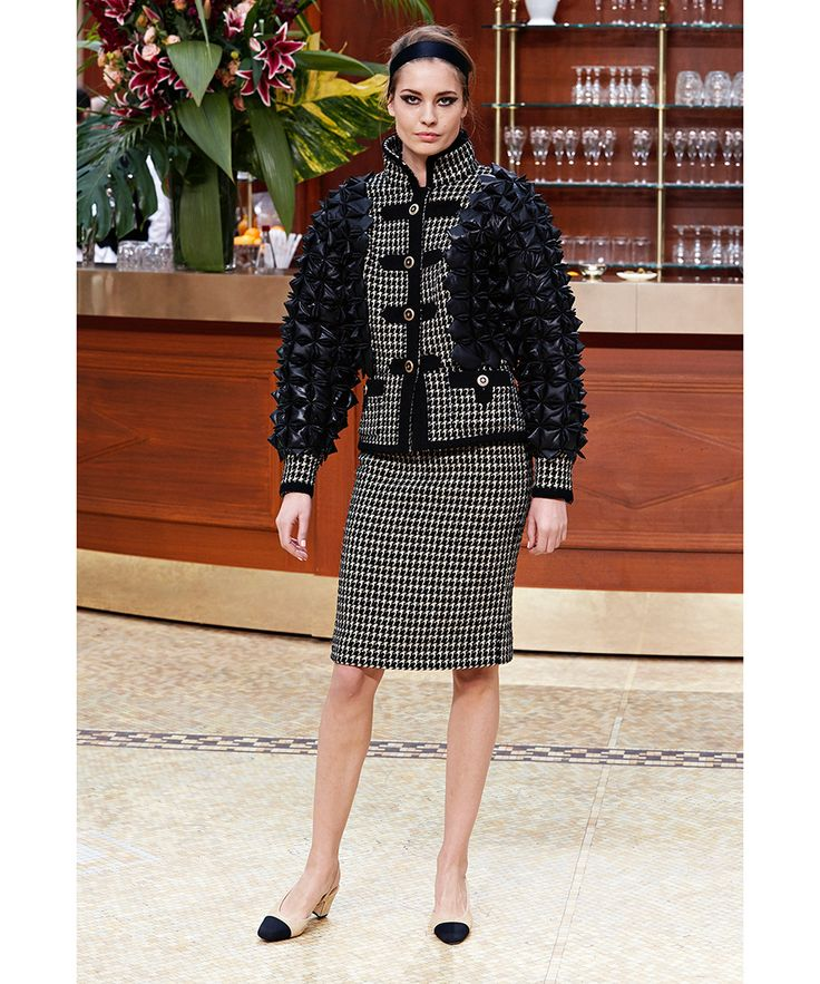 The Evolution of Chanel's Two-Tone Shoe. Fall Winter 2015Two ...