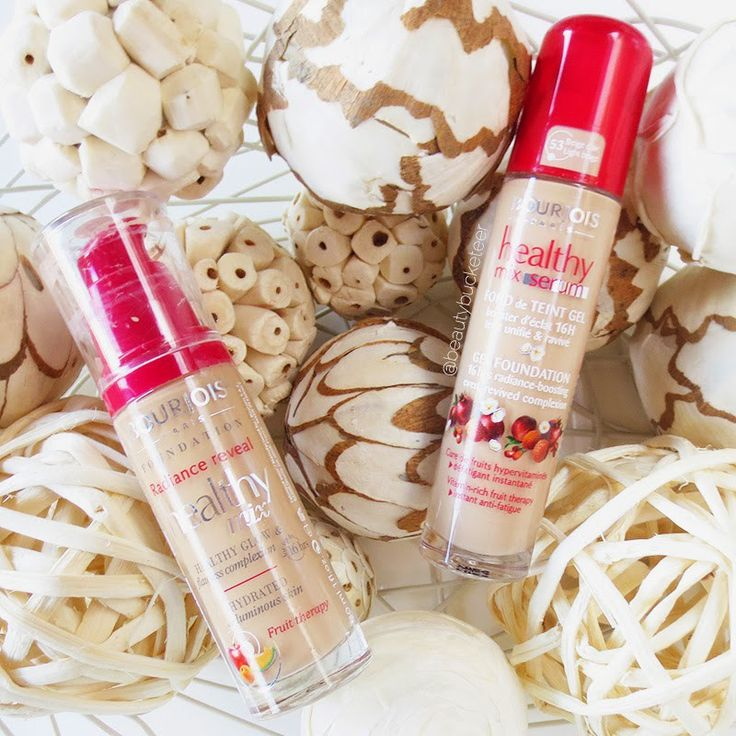 Bourjois Healthy Mix Foundation & Bourjois Healthy Mix Serum Gel Foundation